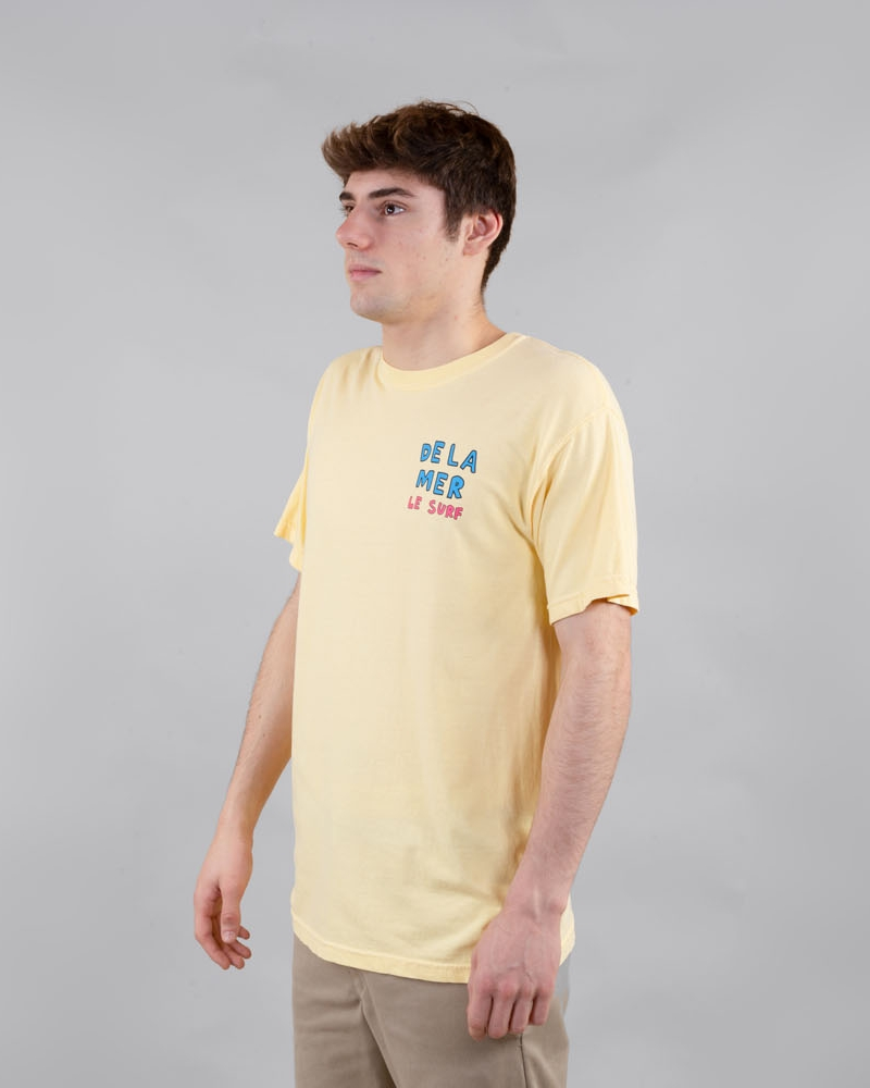 3 feet high t-shirt yellow side