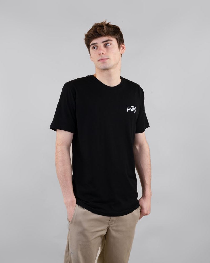 Motion black t-shirt